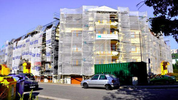 Fotografie z průběhu rekonstrukce